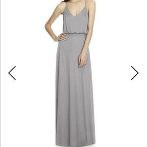 Alfred Sung Bridesmaid Dress Style D739 in Quarry